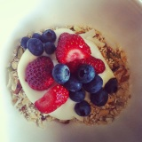 Muesli with Greek Yogurt andBerries